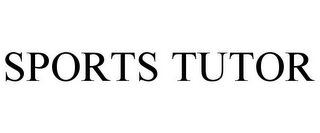 mark for SPORTS TUTOR, trademark #77116833