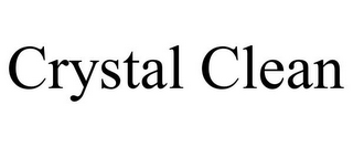 mark for CRYSTAL CLEAN, trademark #77117318