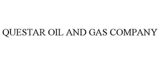 mark for QUESTAR OIL AND GAS COMPANY, trademark #77117465