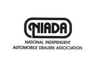 mark for NIADA NATIONAL INDEPENDENT AUTOMOBILE DEALERS ASSOCIATION, trademark #77119461