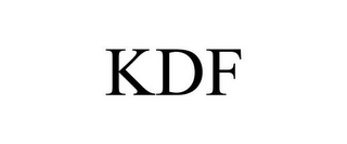 mark for KDF, trademark #77119645