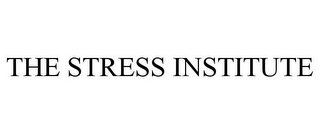 mark for THE STRESS INSTITUTE, trademark #77121307