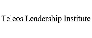 mark for TELEOS LEADERSHIP INSTITUTE, trademark #77122483