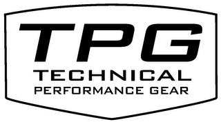 mark for TPG TECHNICAL PERFORMANCE GEAR, trademark #77123926