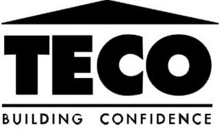 mark for TECO BUILDING CONFIDENCE, trademark #77124615