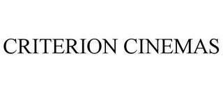 mark for CRITERION CINEMAS, trademark #77125328