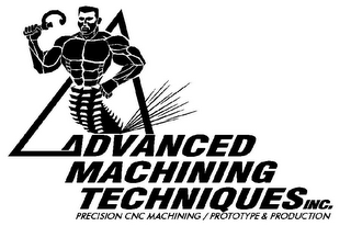 mark for ADVANCED MACHINING TECHNIQUES INC. PRECISION CNC MACHINING / PROTOTYPE & PRODUCTION, trademark #77125486
