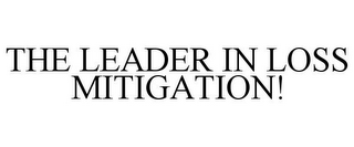 mark for THE LEADER IN LOSS MITIGATION!, trademark #77125656