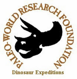 mark for PALEO-WORLD RESEARCH FOUNDATION DINOSAUR EXPEDITIONS, trademark #77126329