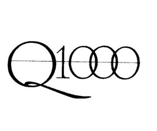 mark for Q1000, trademark #77126903