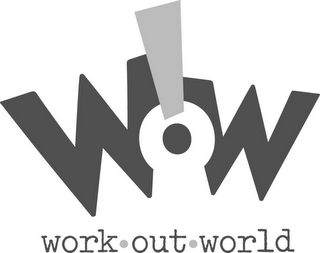 mark for WOW! WORK · OUT · WORLD, trademark #77128702