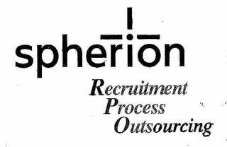 mark for SPHERION RECRUITMENT PROCESS OUTSOURCING, trademark #77129992