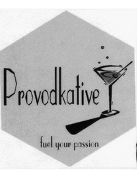 mark for PROVODKATIVE FUEL YOUR PASSION, trademark #77133000