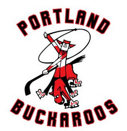 mark for PORTLAND BUCKAROOS, trademark #77133899