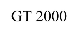mark for GT 2000, trademark #77134165