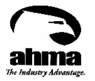 mark for AHMA THE INDUSTRY ADVANTAGE., trademark #77134556