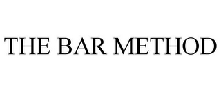 mark for THE BAR METHOD, trademark #77136349