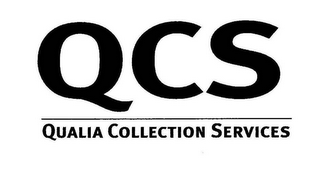 mark for QCS QUALIA COLLECTION SERVICES, trademark #77137073
