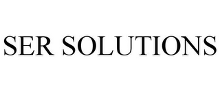 mark for SER SOLUTIONS, trademark #77138928