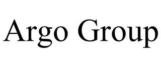 mark for ARGO GROUP, trademark #77139505