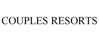 mark for COUPLES RESORTS, trademark #77142704