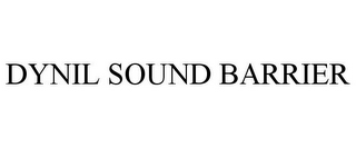 mark for DYNIL SOUND BARRIER, trademark #77143853