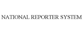 mark for NATIONAL REPORTER SYSTEM, trademark #77144569