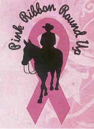 mark for PINK RIBBON ROUND UP, trademark #77144742