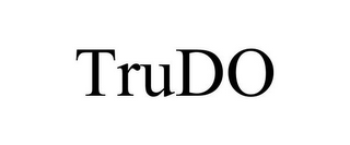 mark for TRUDO, trademark #77144871