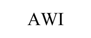 mark for AWI, trademark #77144909