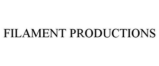 mark for FILAMENT PRODUCTIONS, trademark #77146535