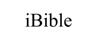 mark for IBIBLE, trademark #77147046