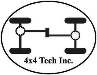 mark for 4X4 TECH INC., trademark #77148130
