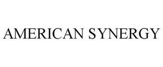 mark for AMERICAN SYNERGY, trademark #77148786