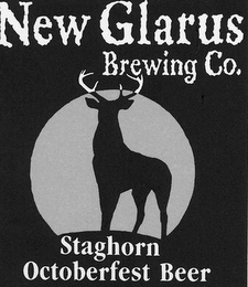 mark for NEW GLARUS BREWING CO. STAGHORN OCTOBERFEST BEER, trademark #77148791