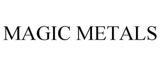 mark for MAGIC METALS, trademark #77149457