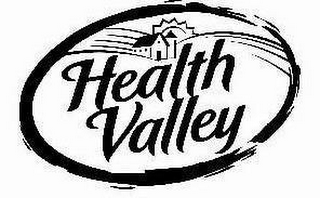 mark for HEALTH VALLEY, trademark #77149541