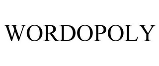mark for WORDOPOLY, trademark #77150042