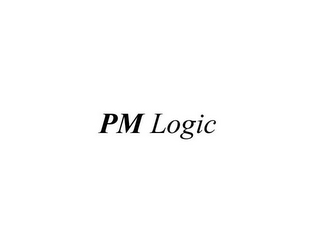 mark for PM LOGIC, trademark #77150512