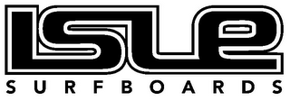 mark for ISLE SURFBOARDS, trademark #77151122