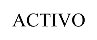 mark for ACTIVO, trademark #77151350