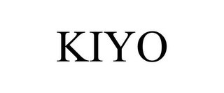 mark for KIYO, trademark #77153724