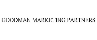 mark for GOODMAN MARKETING PARTNERS, trademark #77154175