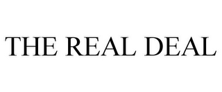 mark for THE REAL DEAL, trademark #77154585