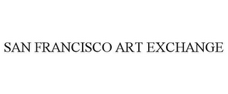 mark for SAN FRANCISCO ART EXCHANGE, trademark #77155162