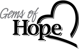 mark for GEMS OF HOPE, trademark #77155528