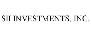 mark for SII INVESTMENTS, INC., trademark #77155803