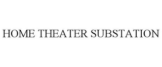 mark for HOME THEATER SUBSTATION, trademark #77156030