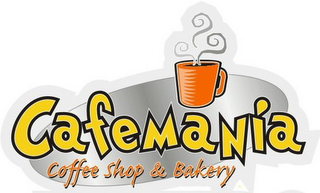 mark for CAFEMANIA COFFEE SHOP & BAKERY, trademark #77156188
