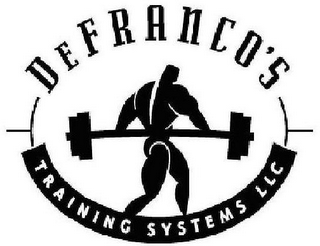 mark for DEFRANCO'S TRAINING SYSTEMS LLC, trademark #77156306